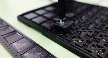 SMD, Gurtung, Bauteile von Trays in Gurtband - Mble Lohngurtservice