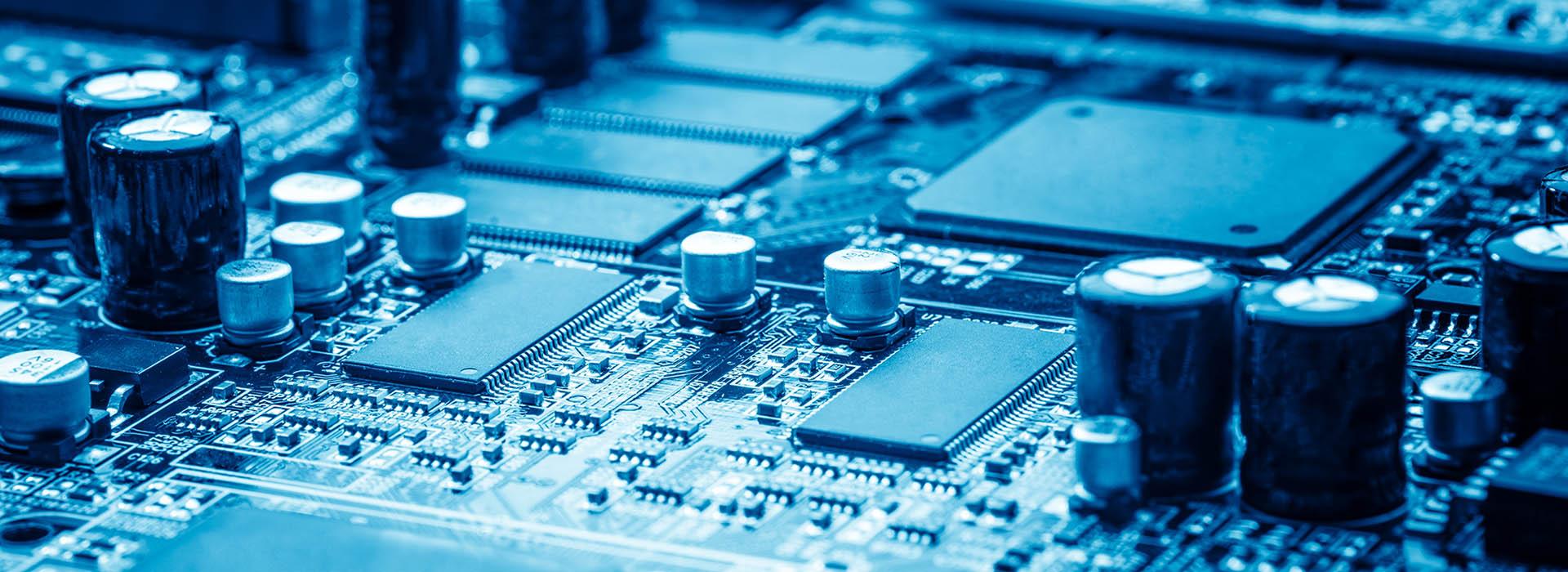 Leiterplatten, Kondensatoren, Transistoren, LED, Lohngurtung - Mble Lohngurtservice